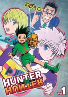 Hunter x hunter manga cover