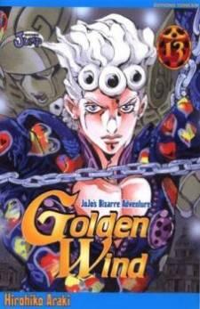 Jojo's bizarre adventure part 5: vento aureo manga cover