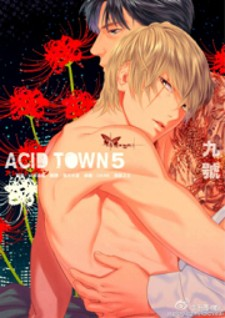 Acid town manga cover